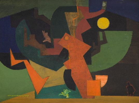 Louis Marcoussis, Nuit II - 1937